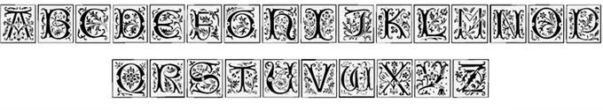 Camelot Caps Font
