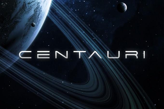 Centauri Futuristic Techno Font