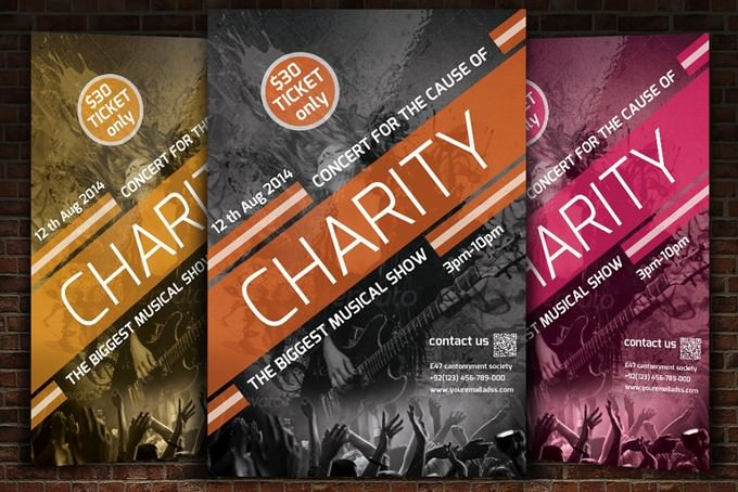 Charity Concert Flyer