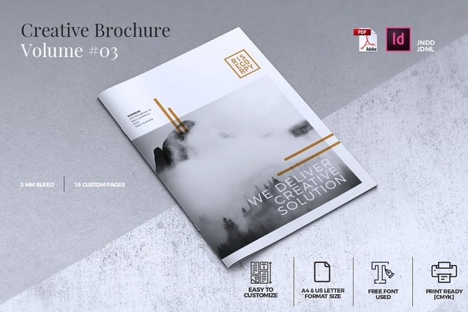 Creative Brochure Template Vol. 03