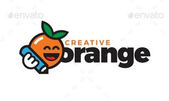 Creative Orange Logo Template