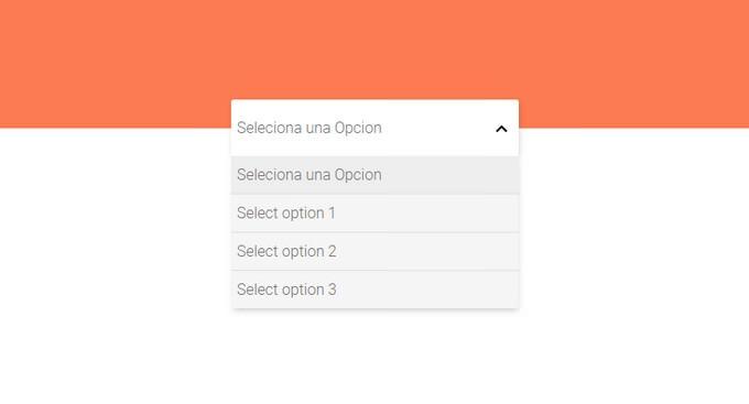 Custom Select An Option