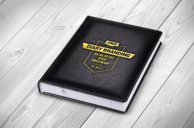 Diary Branding Mockup