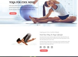 ET Yoga - Yoga Joomla Template