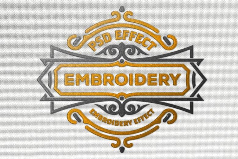 Cloth Embroidery Mockup PSD-3000×3000 px