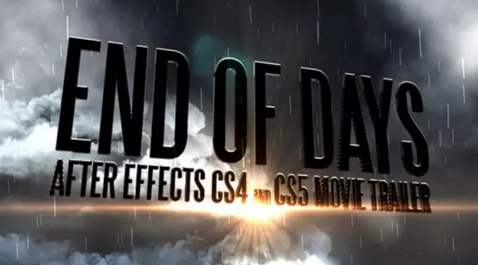 End Of Days - CS4&CS5 Trailer