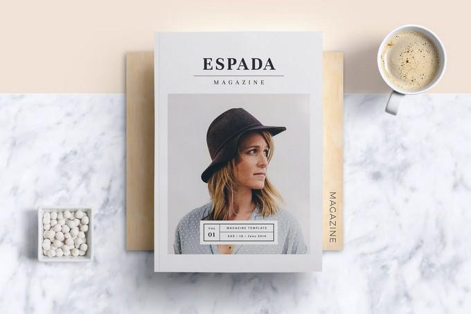 Espada Magazine Template