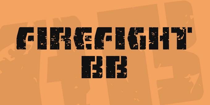 FireFight BB Font