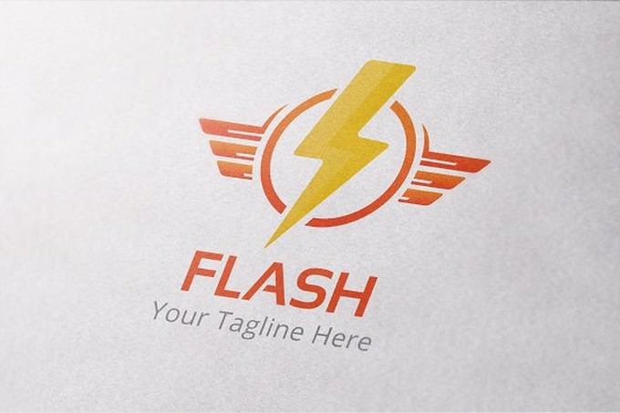 Flash Logo Template