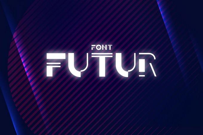 Techno Font Futur