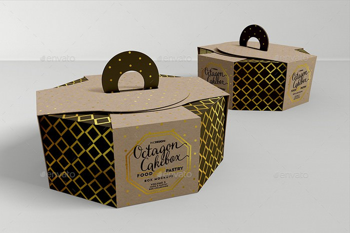 Food pastry Boxes Vol.3