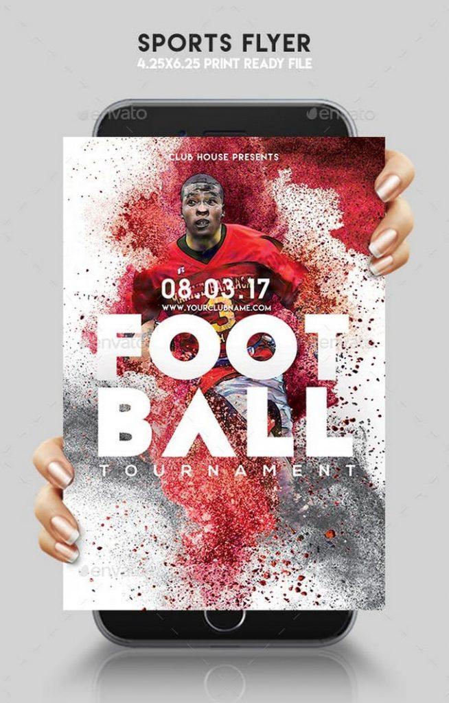 Foot Ball Sports Flyer