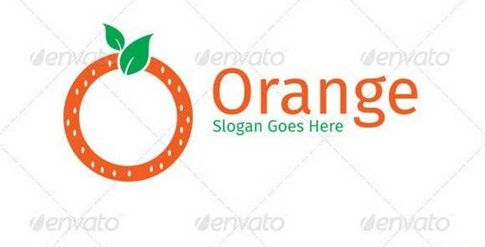 Fresh Circle Orange Logo