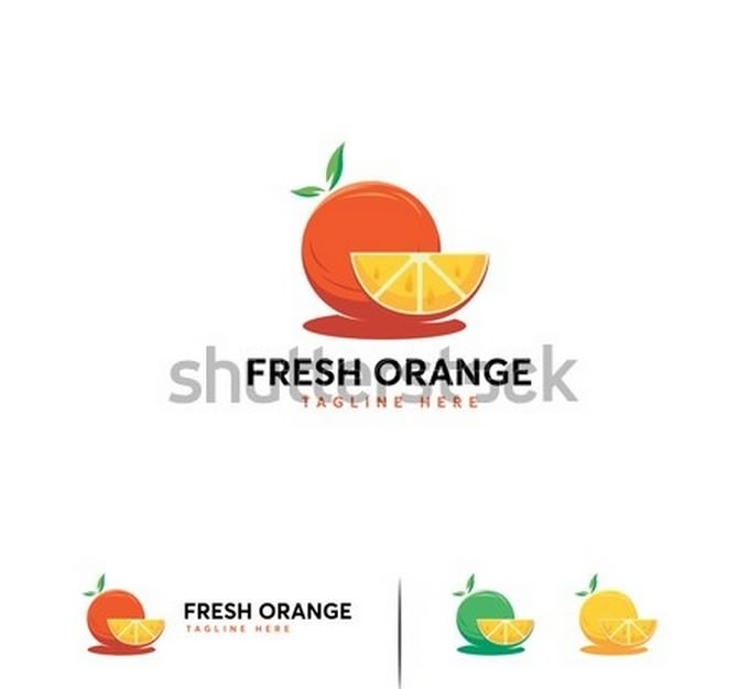 Fresh Orange Logo Designs
