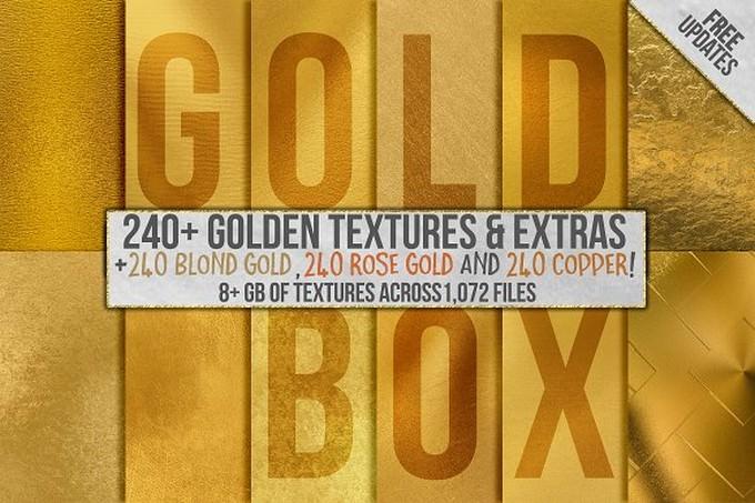 Gold Foil Backgrounds # 2