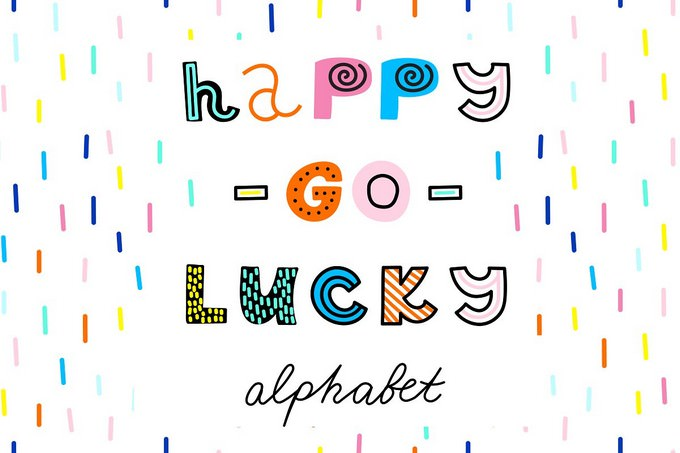 Happy-go-Lucky Alphabet