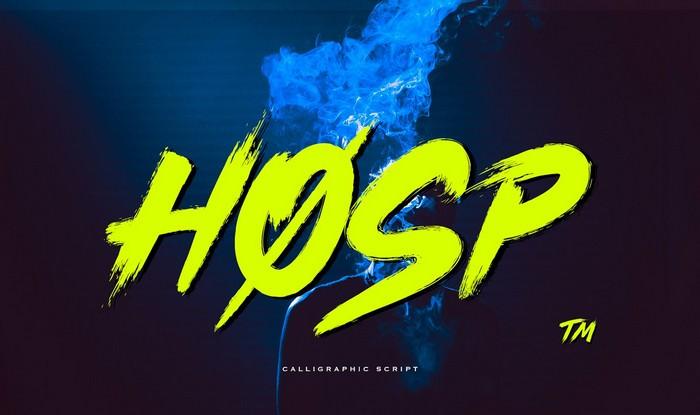 Hosp - Font