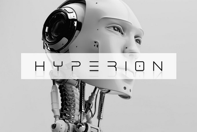 Hyperion Techno Typeface
