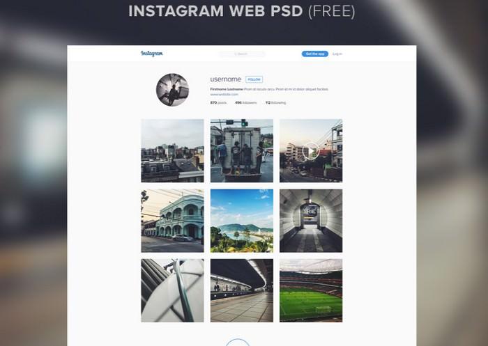 Instagram Template Mockup