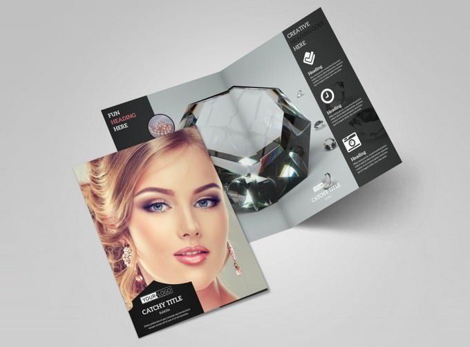 Jewelry Store Brochure Template