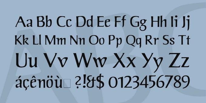 Jorvik Viking Style Font