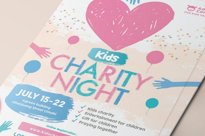 Kids Charity Flyer # 2