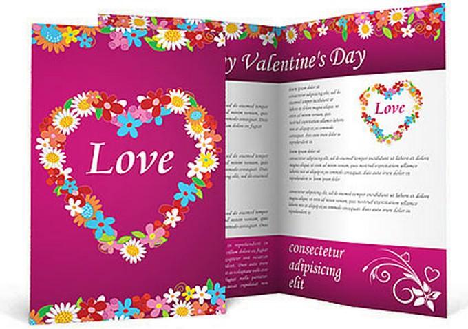 Love Brochure Template