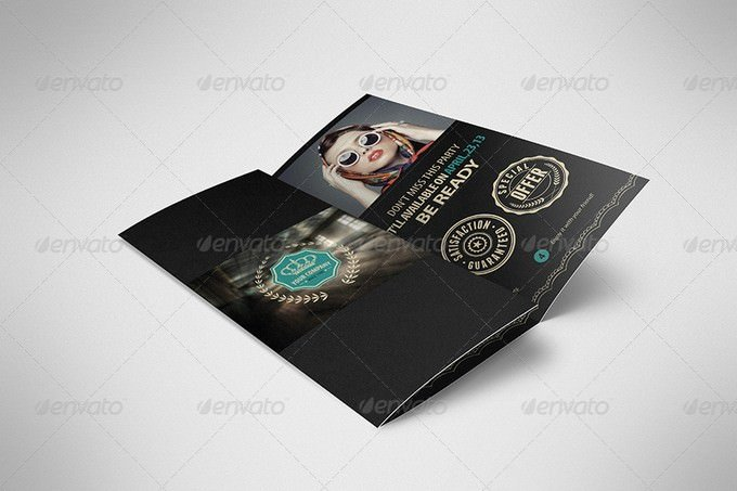 Luxury Retro Brochure Tri-fold