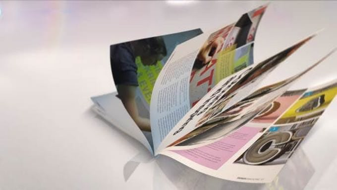 Magazine Promotion Template