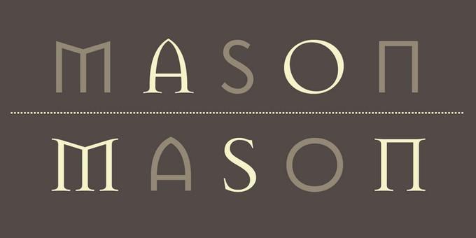 Mason-OT Font