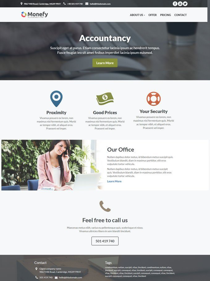 Monefy - Accounting Template