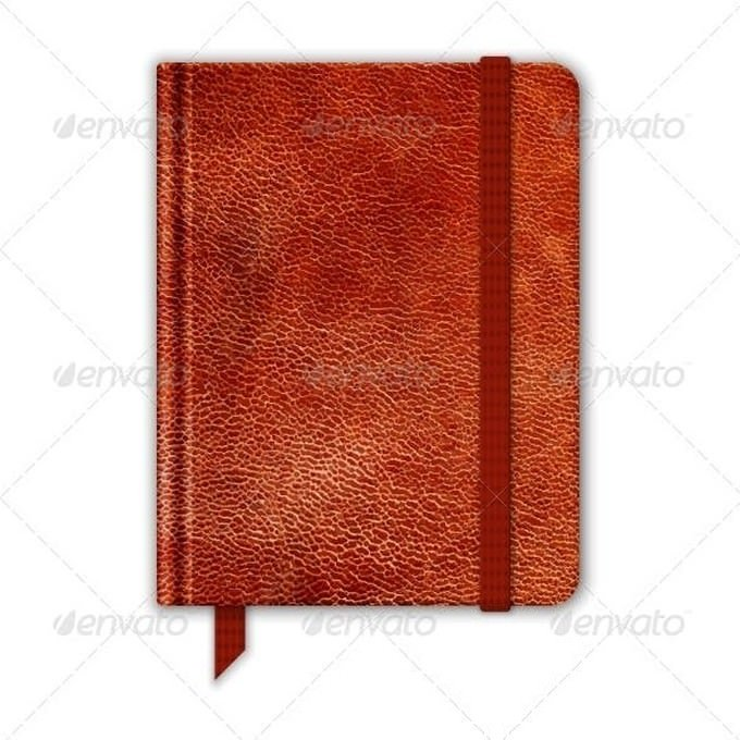 Natural Leather Notebook