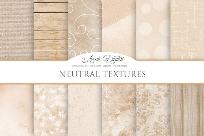 Neutral Background Textures