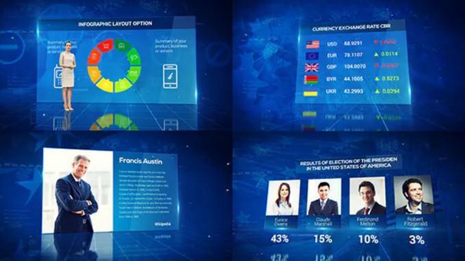 News Infographics Pack