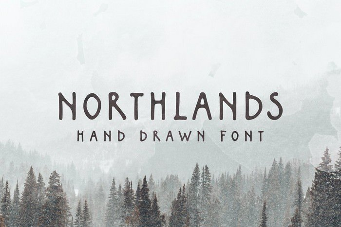 Northlands Hand Drawn Font