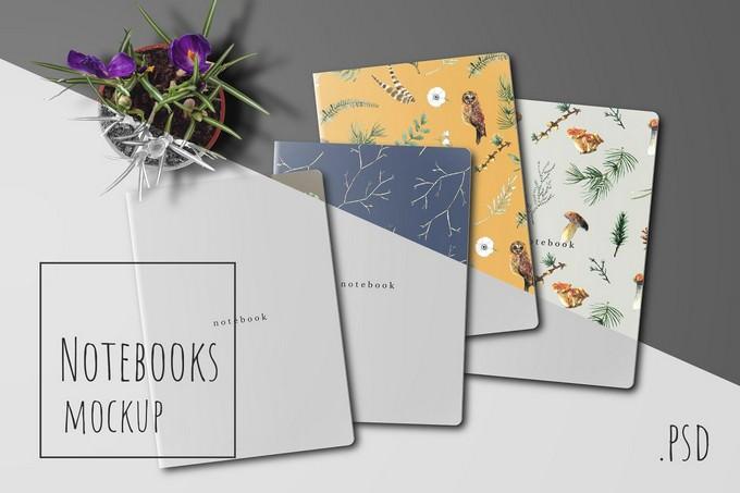 Notebooks Mockup