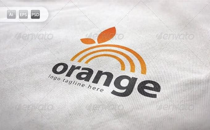 Orange Logo Fresh