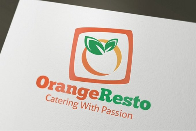 Orange Resto - Restaurant Logo