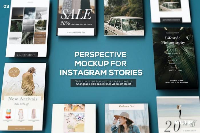 Perspective Mockup for Instagram Stories 03