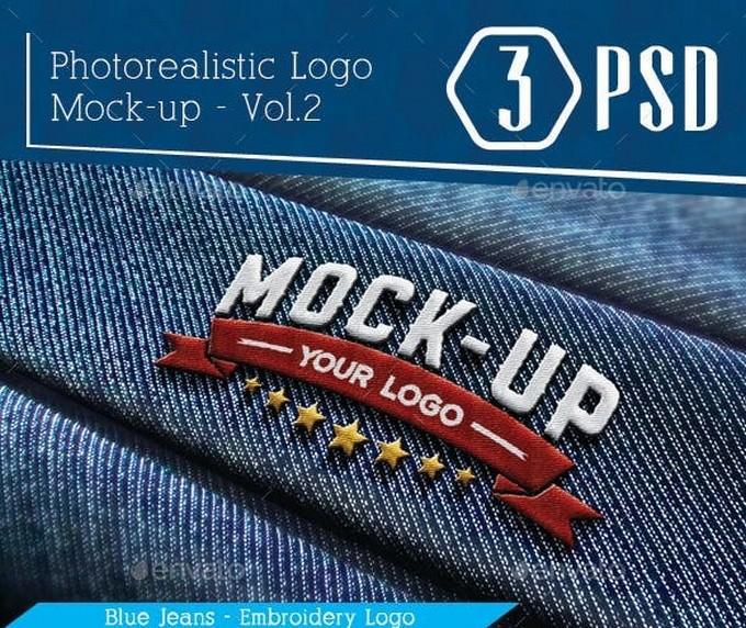 Photorealistic Logo Mock-Up Vol.2