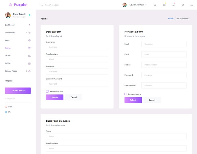 Purple – Free