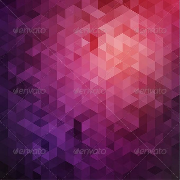 Purple Triangles Background