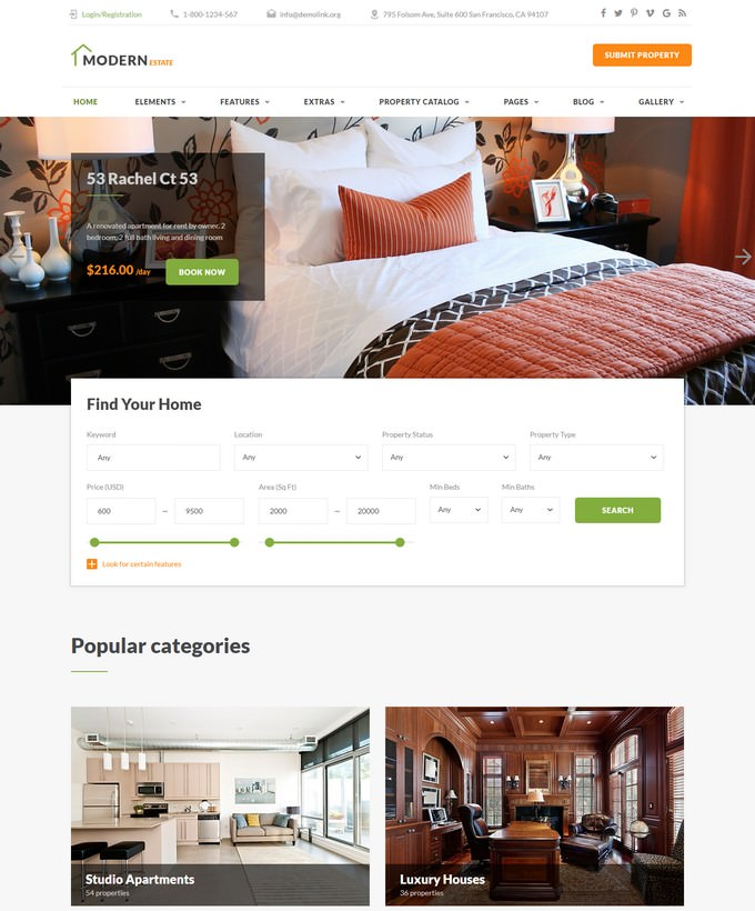 RealHouse - Mortgage HTML5 Website Template