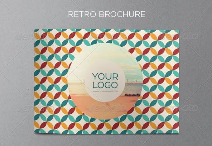 Retro Brochure Template