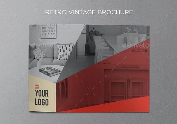Retro Vintage Brochure