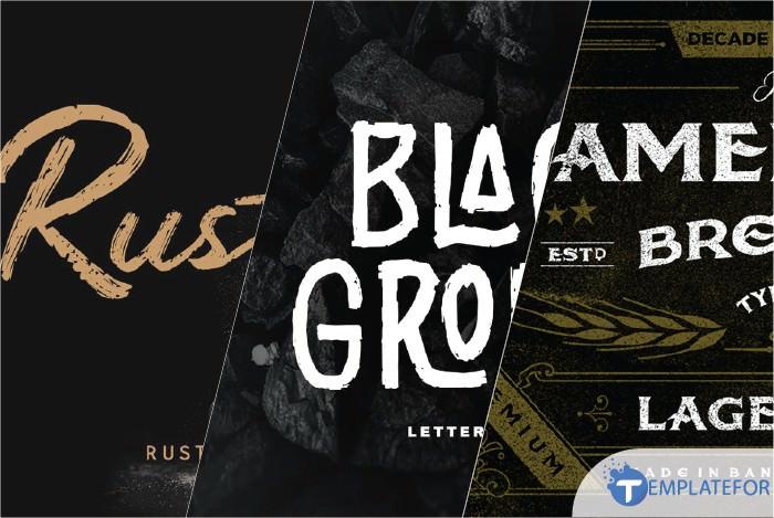 Rustic Fonts