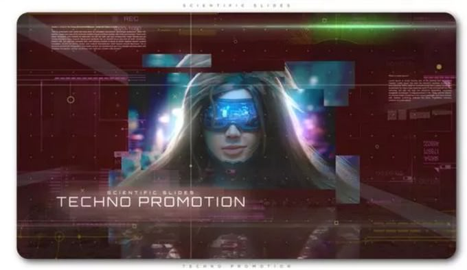 Scientific Slides Techno Promotion