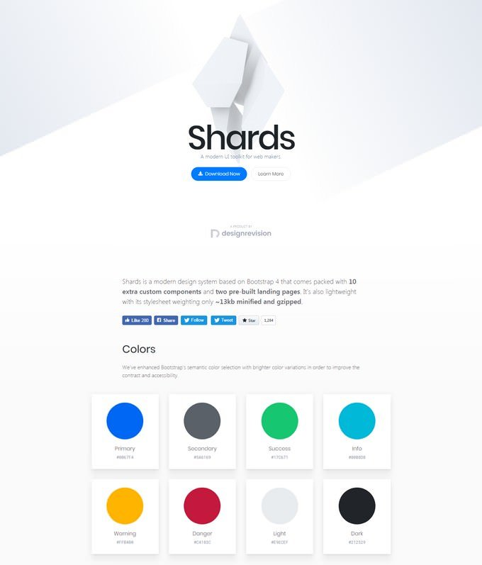 Shards Free A Free And Modern UI Toolkit