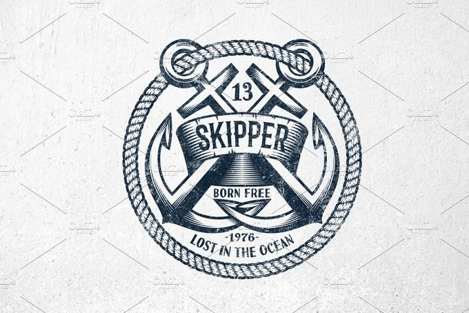 Skipper Anchor Logo