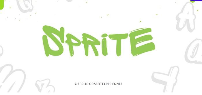 Sprite Graffiti Free Fonts